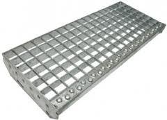 Оцинкованные стальные решетки