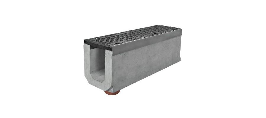 Бетонные лотки, желоба и каналы. ЖБИ лотки. Купить бетонный лоток/желоб. Gidrolica